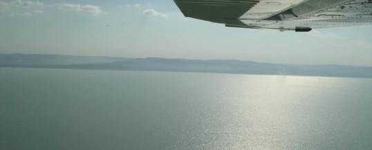Repülés a Balaton felett